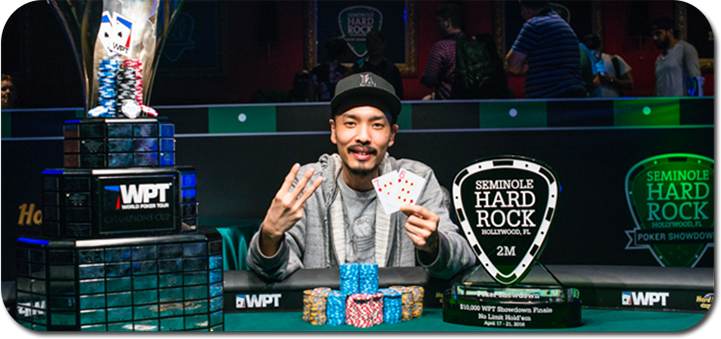 Chino Raheem wins World Poker Tour