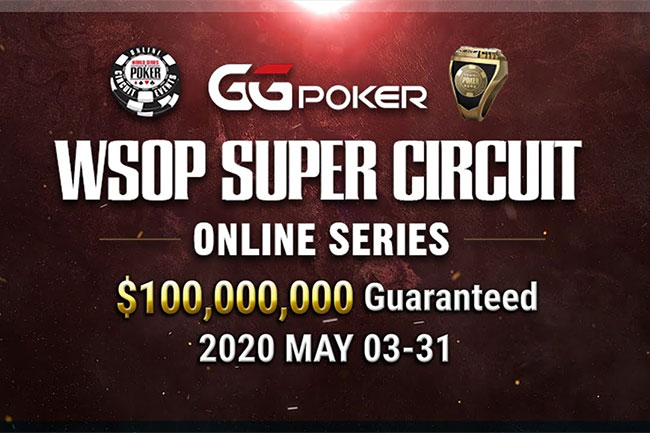 WSOP Online Super Circuit May 2020